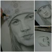WIP W.Axl Rose by MonalisaBorges