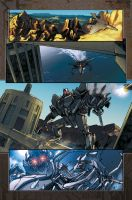 Reign of Starscream sample pg2 by markerguru