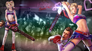 Lollipop Chainsaw Wallpaper by ZebraTalent