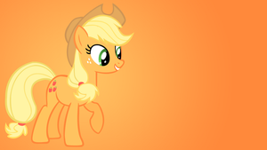 Applejack Wallpaper by Shelmo69