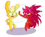Fladdles- comin' dance with me,honey~ by Jabanan