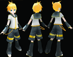 LAT Kagamine Len ACT2 DOWNLOAD by necrolagniac
