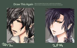 Damien before and after by ShikiAriandriNight