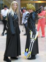 Vexen and Roxas by puredgnr8