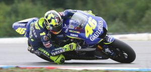 Valentino Rossi - action by RadeCZECH