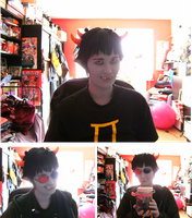 Sollux Make-up Test by Hebidoku