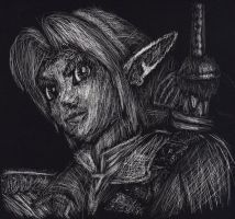 Link Scratched by DarkHeroDude