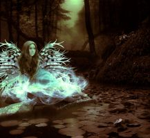 The Widowed Fairy by TheDreamBelow
