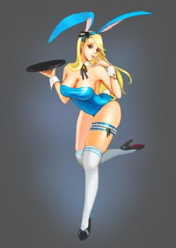 Bunny girl by MJ-Kwon