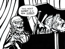 Inktober 2014 Day 9 The Crypt Keeper by TheRigger