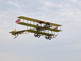Avro Triplane Old Warden by davepphotographer