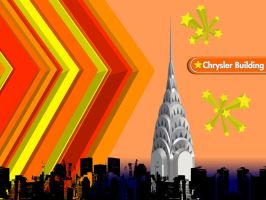 The Chrysler Building by Death-By-Romance