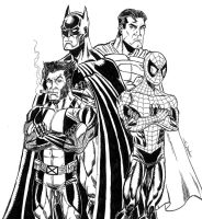 THE WORLD'S FINEST MARVEL TEAM-UP by FanBoy67