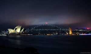 Sydney Harbour by WHY-PSI