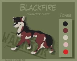 Blackfire - Character Sheet by Skailla