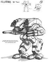 MechWarrior 4 Hellhound by Mecha-Zone
