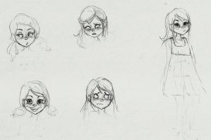 Some old sketches by carolleite1995