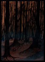 In the Deep Woods by FeralFungus