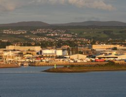 Inverness harbour by piglet365