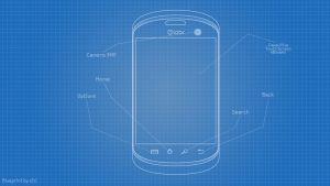 My Phone Design Blueprint by zizi2008