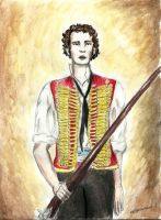 Michael Colbourne as Enjolras by TheRandomPhangirl