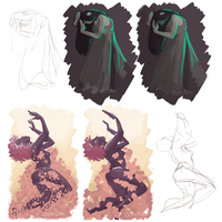 [Practice] From gestures to painting by Qursidae