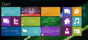 Windows8 Metro UI for xwidget2 by xwidgetsoft