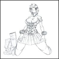 NPCs Barmaid by WickedStar