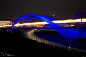 Blue Bridge Ostfildern by clionen77