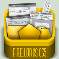 Adobe Fireworks Box by Pakaku