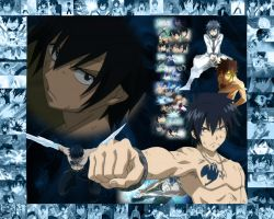FT wallpaper 3 Gray Fullbuster by GalacticKitten