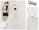 Justine Andrew (The Rapids Application) by Muzic-Mutt
