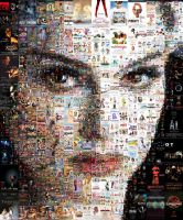 Black Swan Mosaic by Cornejo-Sanchez