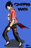 Cheng Wei Coloured by ultima0chaotic