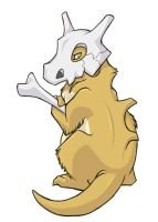 ...pogheys... Cubone by Rainbow-Cemetery