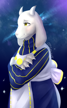 [Undertale] Outertale Toriel by ettaEverything