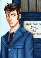 10th Doctor by MokkunChan