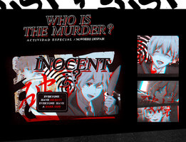 Who Is The Murder? by Camyradiatelove