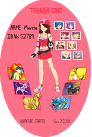 My Own Trainer Card by SilentTalent