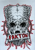 Logo for DJ Faktor. by Patres68