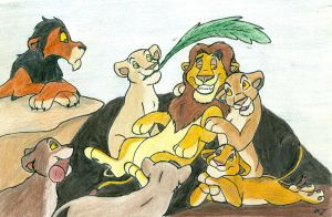 Everyone Loves Mufasa by wahyawolf