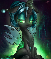 changeling chrysalis by kyodashiro