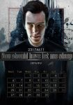 Geek Calendar 2014: January by SceithAilm