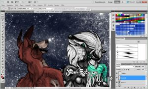 Collab: WIP 3 by Snow-Body