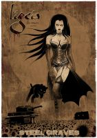 LIGEIA THE VAMPIRE POSTER by rdricci