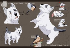 Point Auction Adopt_West terrier_Closed by LewKat