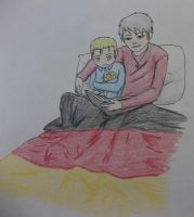APH Bed Time Stories Germany and Prussia by empersian1234
