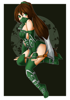 Akali - League of Legends by linkitty