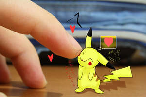 Interactions with Pikachu by NocturnalVentus