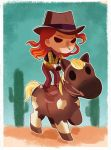 Jo  bad ass cow girl by audreymolinatti